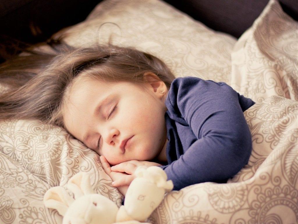 baby, girl, sleep